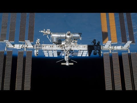 Watch from orbit as the SS John Young dock with the International Space Station