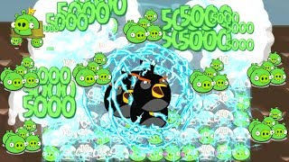 Angry Birds - 9999 PIGGIES GOT SHOCKED BY ELECTRIC BIRDS