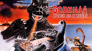 Godzilla: Attack All Monsters (Action, Horror, ganzer Film, Deutsch)