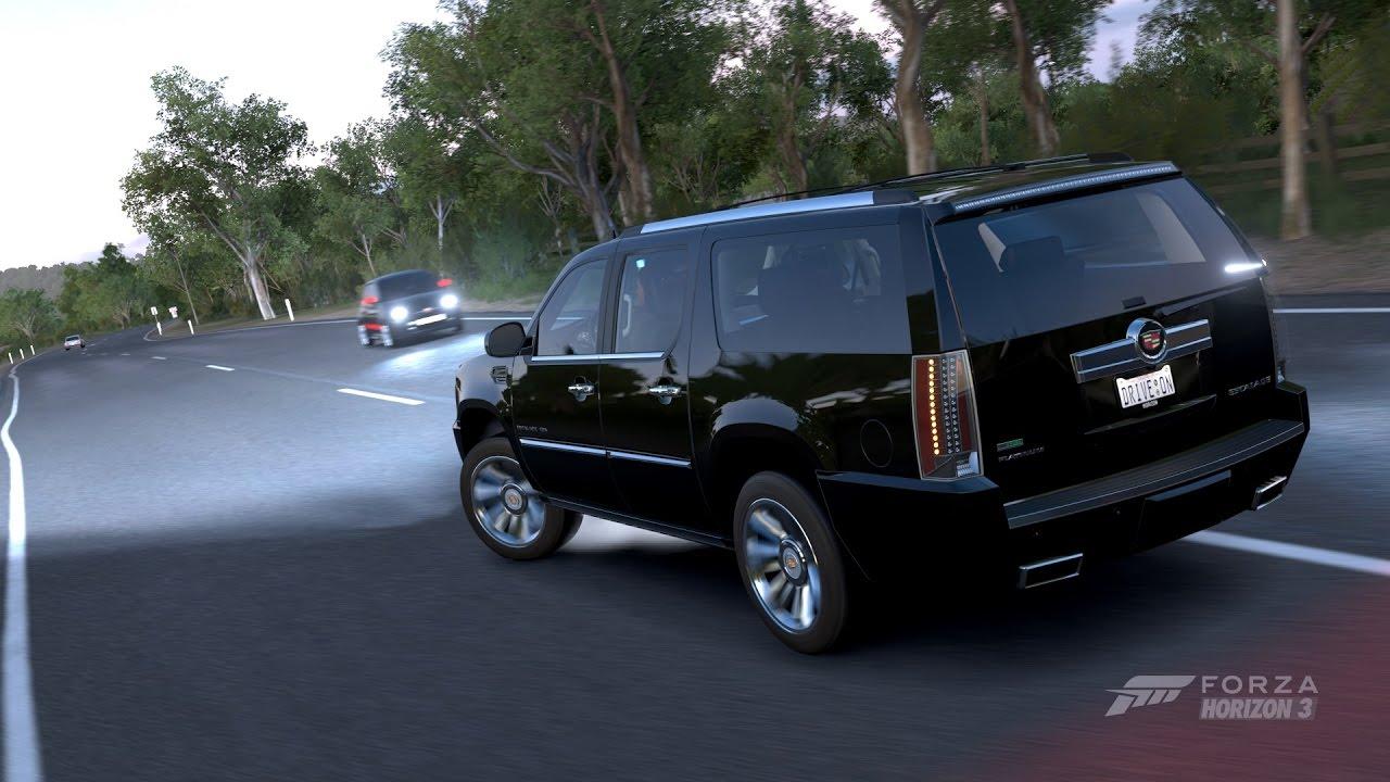 Cadillac Escalade ESV 2012 - Forza Horizon 3 - YouTube