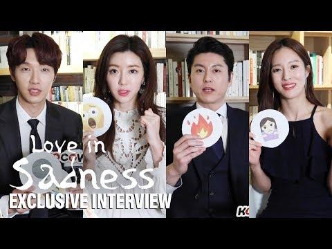 [Exclusive InterviewㅣLove In Sadness] Ji Hyun Woo, Ryu Su Young, Park Han Byul, Wang Bit Na