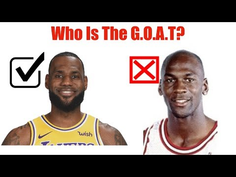LeBron James Is The GOAT!!!!!!!!