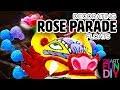 ROSE PARADE 🌹 behind the scenes 👀 decorating the floats! 💐🌸 At Pasadena California Rose Bowl
