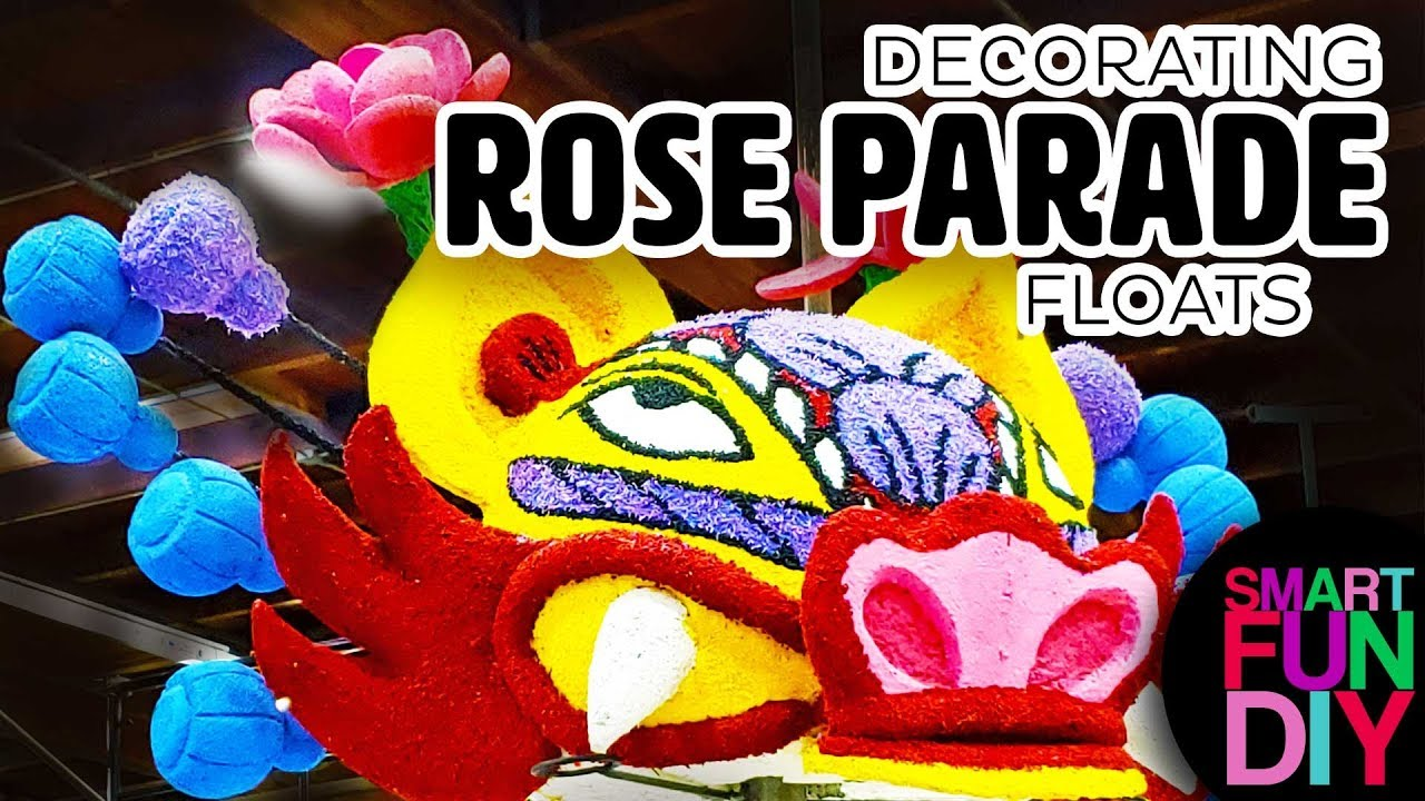 Rose Parade Behind The Scenes Decorating The Floats At