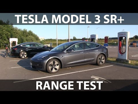 Tesla Model 3 Standard Range Plus Range Test