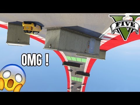 99% UNMÖGLICHER PANTO HINDERNIS LOOPING 😱 (+DOWNLOAD) | GTA 5 ONLINE CUSTOM MAP | LPmitKev