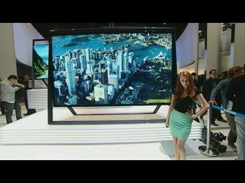 CES 2013: Curved, 4K and interactive TVs launch in Las Vegas
