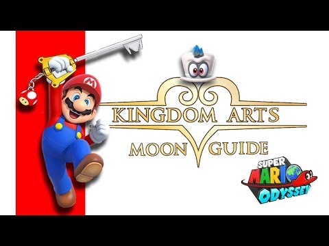 Super Mario Odyssey | Kingdom Art Hints | Moon Locations And Paths