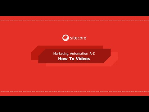 Setup basic marketing automation scenario in Sitecore 9