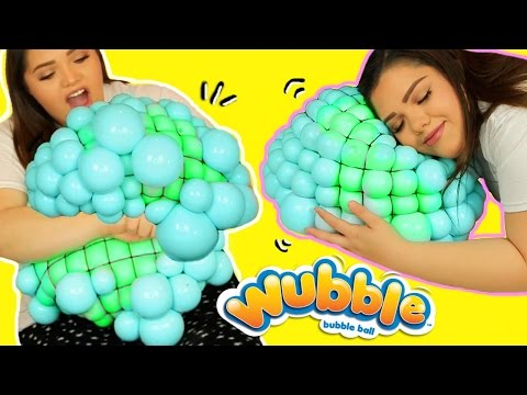 Thumbnail: DIY GIANT MESH SLIME STRESS BALL! Super Cool Giant Stress Ball!