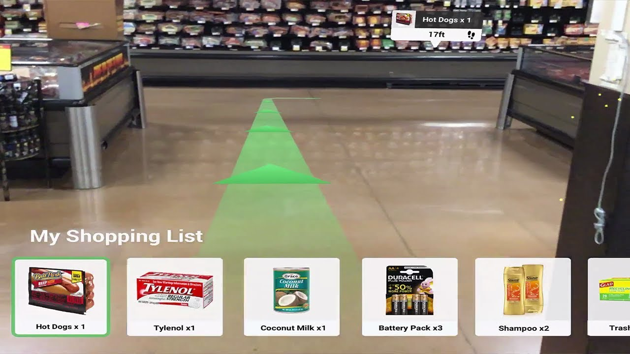 AR Shopping Waypoints with Apple ARKit