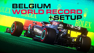 How To Get Faṡter Around Spa On F1 2020 - Spa World Record 1:39.997 + Setup