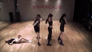 BLACK PINK- BOOMBAYAH DANCE PRACTICE MIRRORED