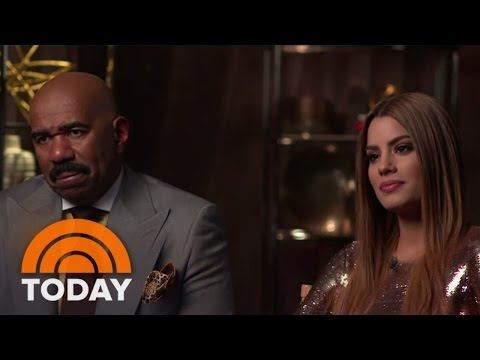 Steve Harvey And Miss Colombia Talk Miss Universe Mistake | TODAY