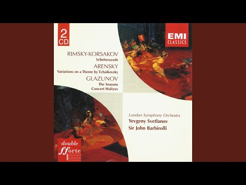 Variations on a theme of Tchaikovsky Op. 35a