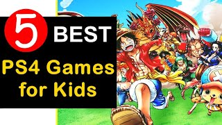 Top 5 Best ps4 games for kids 2018