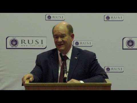 Senator Chris Coons on 'Striking the Right Balance: America's Commitment to Syria and Afghanistan'