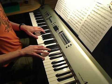 Howls Moving Castle ハウルの動く城  MerryGoRound Of Life Piano ; comp  Joe Hisaishi