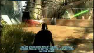 Star Wars The Force Unleashed - Darth Vader Mission - Part 1
