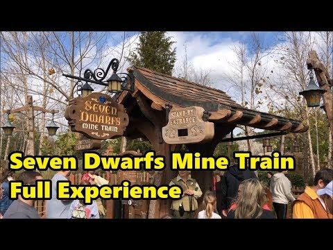 Seven Dwarfs Mine Train | Full Experience | Magic Kingdom | Walt Disney World