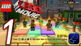 The Lego Movie VideoGame PC Walkthrough - Gameplay Part 1 - Brickburg Construction