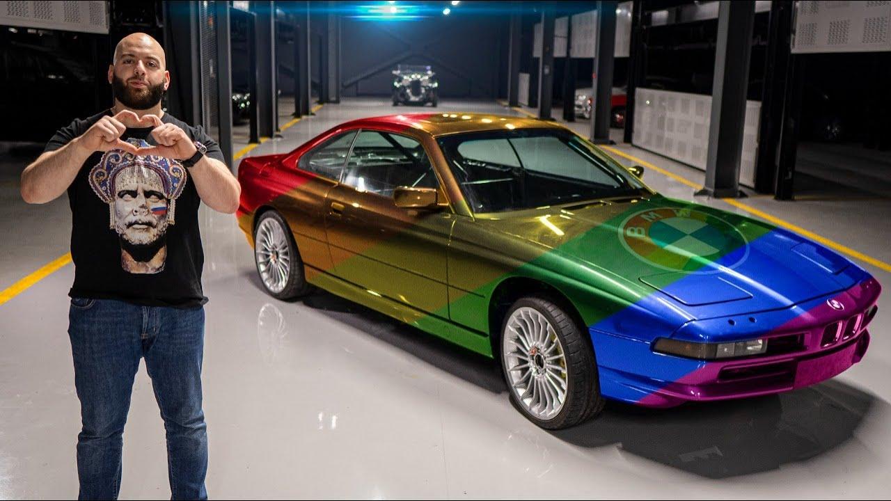 Новая внешность 800+ л.с. BMW SUPER 8 — цвет, диски, тормоза!