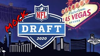 2020 NFL MOCK DRAFT Full First Round 📢 1.0