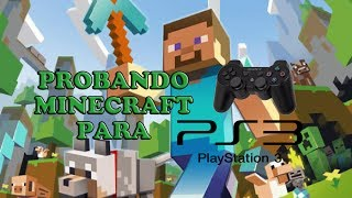 Minecraft PS3 - Probando la Demo