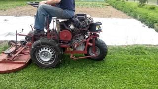 Kosiarka traktorek własnej roboty