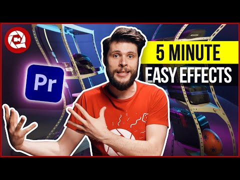 5 Easy VFX under 5 MINUTES (Premiere Pro Tutorial)