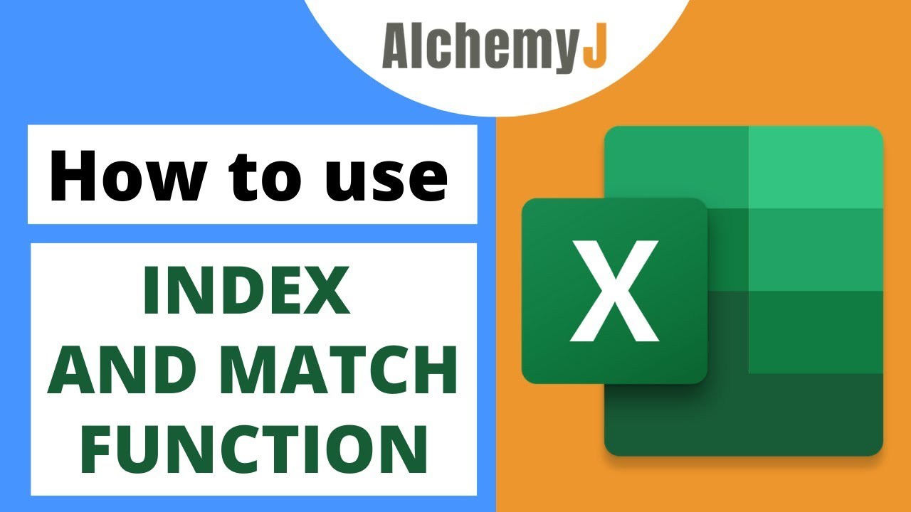 Basic Excel Function - How to use INDEX and MATCH Function in Excel