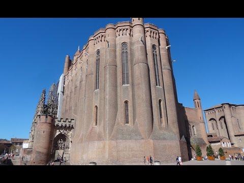 Albi (Francia): Catedral de Santa Cecilia y alrededores