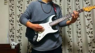 【ギター】フジファブリック の 同じ月 を弾いてみた【前髪が鬱陶しい】