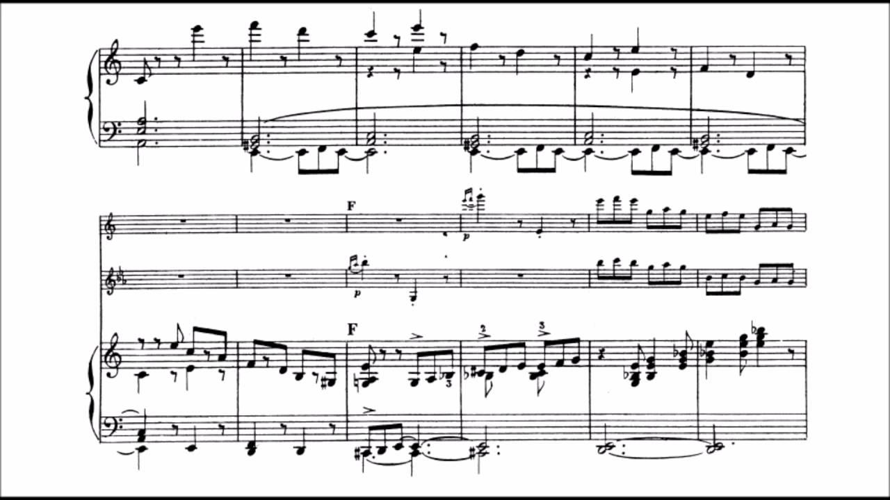 Camille Saint-Saëns - Tarantella Op  6 (audio + sheet music)