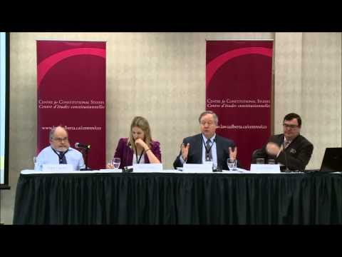 Time for Boldness on Senate Reform Panel 1: The Post-Reference Legal/Political Terrain