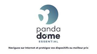 Panda Dome Essential - Ne vous inquiétez plus des menaces internet