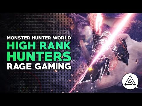 Monster Hunter World | High Rank Hunters w/ Rage Gaming