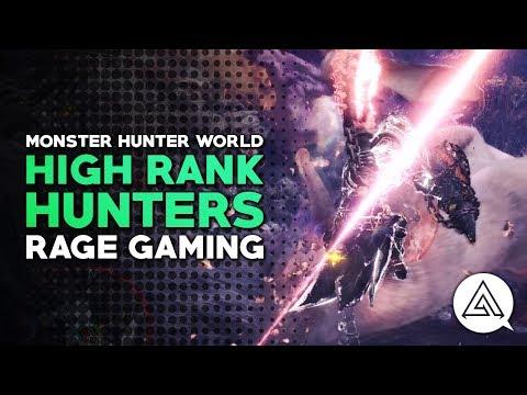 Monster Hunter World   High Rank Hunters w/ Rage Gaming
