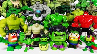 Hulk Assemble! Avengers, Spider-Man, Iron Man, Thor, Captain America, Tayo, Venom