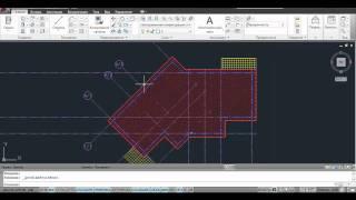 Вопрос по Autocad Architecture. Штриховка плана