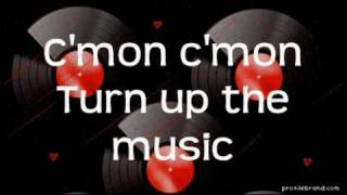 Lemonade Mouth-Turn Up The Music Lyrics (Full Song)