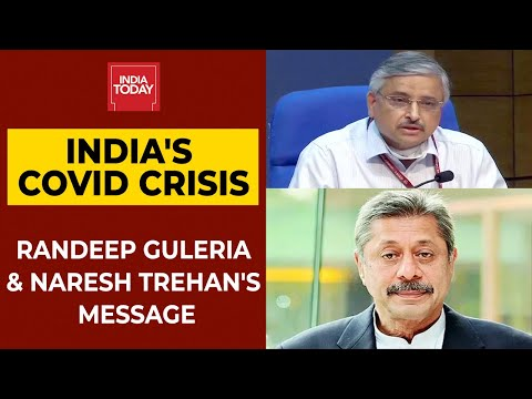 Dr Randeep Guleria & Dr Naresh Trehan's Big Message To India On Covid Pandemic | India Today