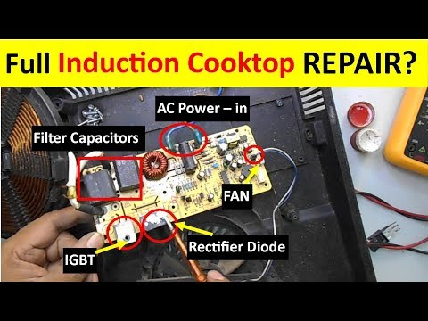 Complete Induction Cooktop Repairing Guide (Full Tutorial)