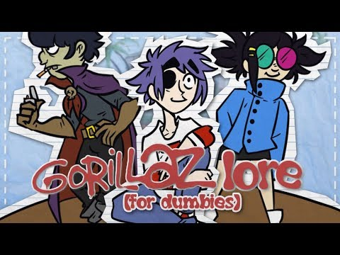 The Gorillaz Lore For Dummies   Sn0wy