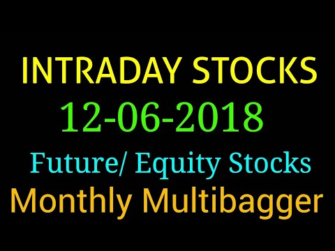 Day trading stocks 12-06-2018  Best stocks with huge potential for intraday