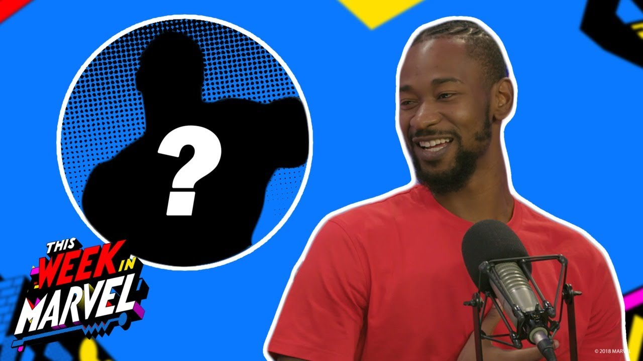 Terrence Ross Picks a Marvel Super Hero Basketball Team | This Week in Marvel