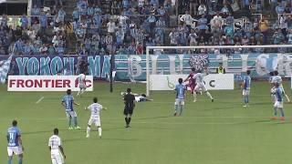 右サイドからのクロスがオウンゴールを誘発し、湘南が敵地で先制点を挙...
