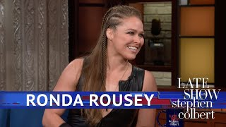 Ronda Rousey Is Working On 'Faking It'