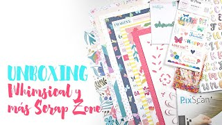 UNBOXING Scrap Zone - Whimsical, Mintopía, Silhouette, Papers for you