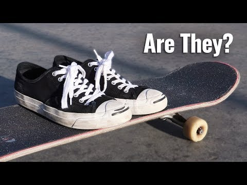 Are CONVERSE Good For Skateboarding?  - Jack Purcell Pro's